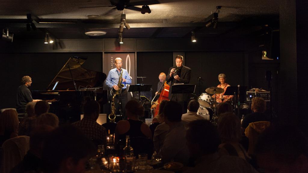 Quintet at Dazzle Jazz Club in Denver